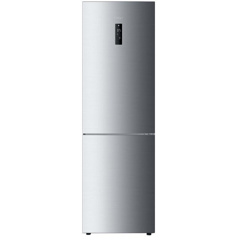 COMBINA FRIGORIFICA Haier C2FE836CFJ, A+++, 185 kWh/an, 201 L, 104 L, argintiu