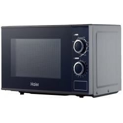 Cuptor cu microunde si grill Haier HGN-2070MGS, 700 W, 900 W, 20 L, Argintiu
