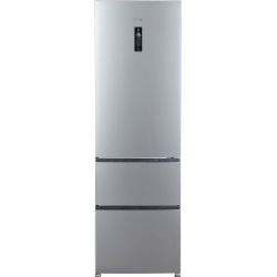 Combina frigorifica Haier A2FE635CFJ,347 l, Clasa A+, No Frost, H 190 cm, Inox