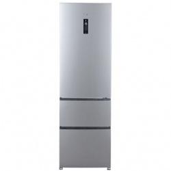 Combina frigorifica Haier A2FE735CXJ, 347 l, Clasa A++, No Frost, H 190 cm, Argintiu
