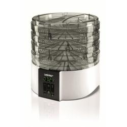 Deshidrator Zelmer ZFD1350W, 520 W, 4 site, 11 litri, Alb/Negru