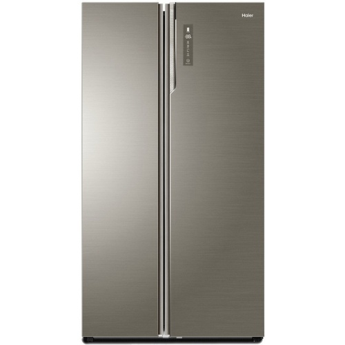Side by Side Haier HRF-800DGS8, clasa A+++, 792 L net, No Frost, control Touch, Glass Design, Argintiu