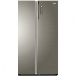 Side by Side Haier HRF-800DGS7, clasa A++, 792 L net, No Frost, control Touch, Sticla