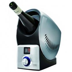 Racitor de vin Caso WineControl, 60W, functie incalzire, argintiu