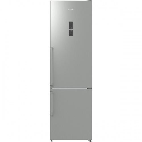 Combina frigorifica Gorenje NRK6203TX, NoFrost Plus, 334 l, Clasa A+++, H 200 cm, Inox