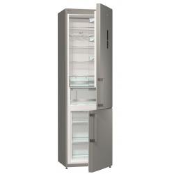 Combina frigorifica Gorenje NRK6202MX, Full No Frost, 363 L, A++, H 200 cm, Inox
