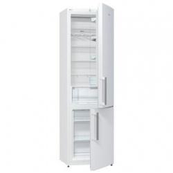Combina frigorifica Gorenje NRK6201CW, No Frost, 363 l, 200 cm Alb