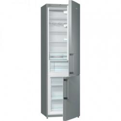 Combina frigorifica Gorenje RK6202EX, 354 l, Clasa A++, 200 cm, Inox