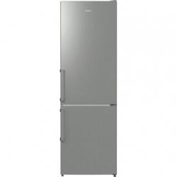 Combina frigorifica Gorenje NRK6191GHX, 325 l, 185 cm, Argintiu