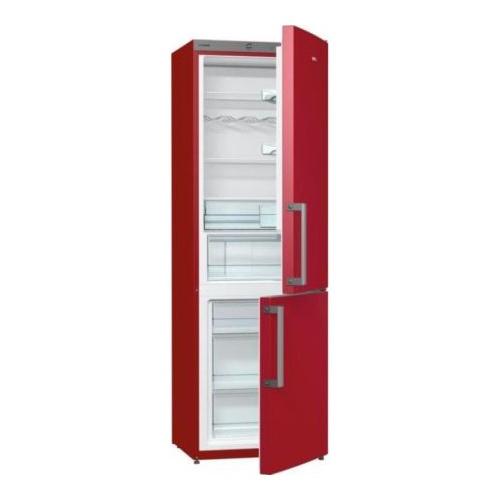 Combina frigorifica Gorenje RK6192ER, 326 l, A++, Rosu