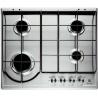 Plita incorporabila Domino Electrolux EGC3322NVK, Gaz, 2 arzatoare, 30 cm, Aprindere electrica integrata, Negru