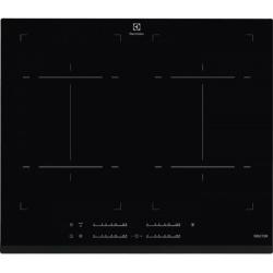 Plita incorporabila Electrolux EHL6540FOK, Inductie, 4 zone de gatit, Functie punte, Control touch, 60 cm, Negru