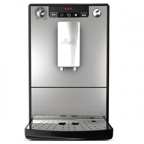 Espressor automat Melitta Caffeo Solo, 15 Bar, 1.2 l, Argintiu