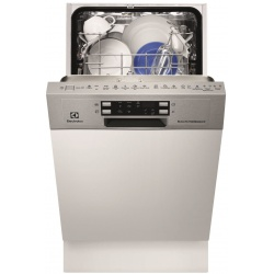 Masina de spalat vase incorporabila Electrolux ESI4620ROX, 9 seturi, 6 programe, Clasa A++, 45 cm, Inox