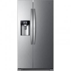 Combina frigorifica Side by Side Haier HRF-630IM7, 555 l, No Frost, clasa A++, Inox