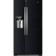 Combina frigorifica Side by Side Haier HRF-630AB7, 555 l, No Frost, clasa A++, Negru
