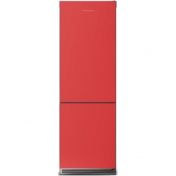 Combina Krystal Bompani, Clasa A+, 316 litri, Latime 60 cm, Sticla Rosie