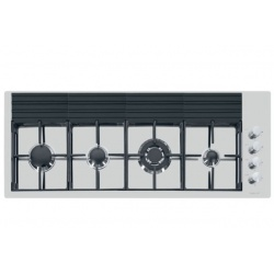 Plita incorporabila Foster S4000 7284032 , instalare FT, gaz, 117.9 cm, 4 arzatoare, aprindere electrica, siguranta gaz, inox