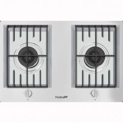 Plita incorporabila Foster FL 7203032, instalare STD, gaz, 76cm , 2 arzatoare, aprindere electrica, siguranta gaz, inox