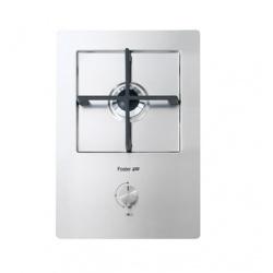 Plita incorporabila Foster KE Domino 7621032, instalare FT/FTS, gaz, 32cm , 1 arzator, aprindere electrica, siguranta gaz, inox