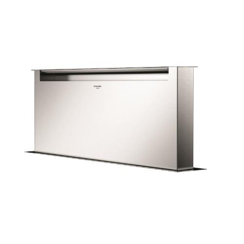 Hota aplicata Fulgor Milano CHDD 9010 RC X, 90 cm, sistem Downdraft,telecomanda, inox