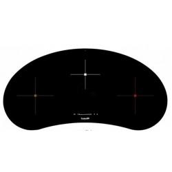Plita incorporabila Foster S4000 7311240, instalare SF/FT, inductie, 90cm, 3 zone de gatit, booster, sticla neagra