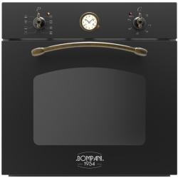 Cuptor incorporabil Bompani Rustico Antracite BO247SM/Ectric, multifunctional, 60cm, 54l, negru