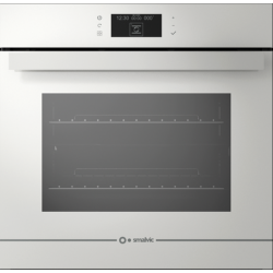 Cuptor electric incorporabil Smalvic GLASS BIANCO FI-74MTLM, 60cm, 74l, grill electric, alb