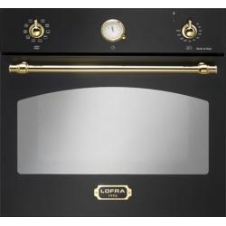 Cuptor incorporabil LOFRA DOLCEVITA FRNM69EE/R, incorporabil, 60cm, 66l, grill electric, negru crom
