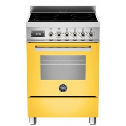 Aragaz Bertazzoni Profesional PRO604IMFESBIT, 60x60 cm, inductie, 4 zone gatit, cuptor electric multifunctional, alb