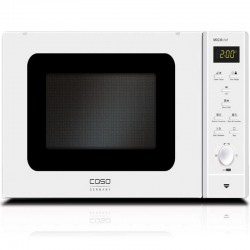 Cuptor cu microunde si grill Caso MCG 30 chef - pure white,microunde 900W,grill 1250 W,alb