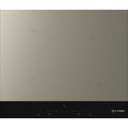Plita incorporabila Smalvic GRES G60-4IND, 60 cm, plita inductie, 4 zone gatit, negru antracit