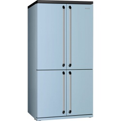 Side by side SMEG VICTORIA FQ906P, Clasa A+, 610 litri, Latime 92 cm, total No Frost, crem