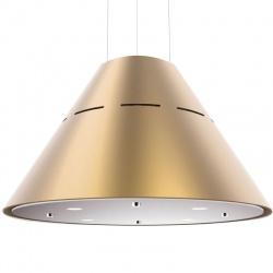 Hota design suspendata Baraldi Eva 01EVAIS060SG80, 60 cm, 800 m3/h, Auriu