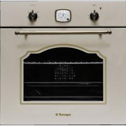 Cuptor incorporabil TECNOGAS RETRO FR660A, incorporabil, 60 cm, 65l, grill electric, avena
