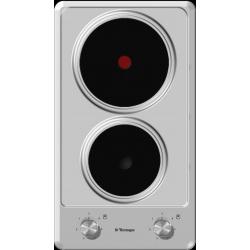Plita incorporabila Tecnogas MODERNO L32VX, 30 cm, plita gaz, 2 arzatoare, sistem siguranta Stop-Gaz, inox
