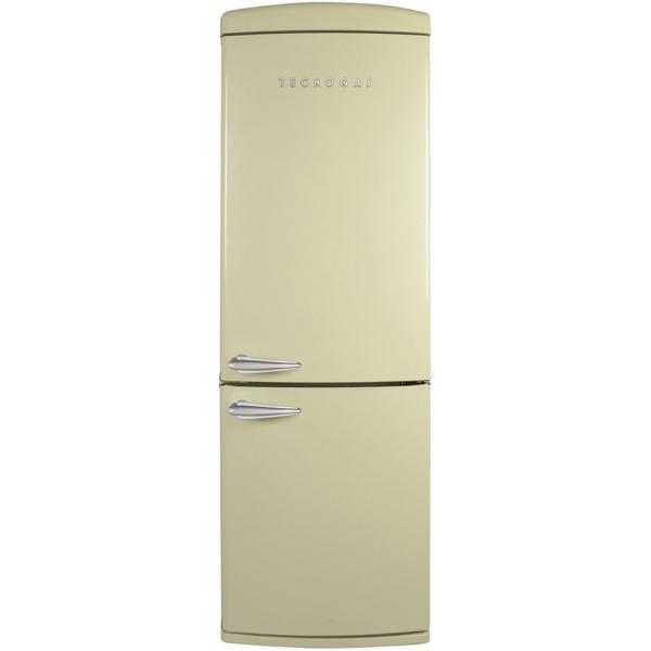 Combina frigorifica Deco Tecnogas COMBI22W, Clasa A+, 335 litri, Latime 60 cm, total No Frost, alb