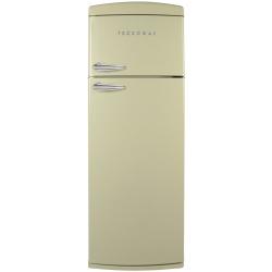 Frigider 2 usi Deco Tecnogas DP36C, Clasa A+, 317 litri, Latime 60 cm, crem