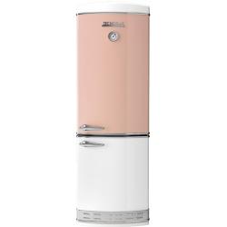 Combina frigorifica Tecnogas Frigo 1952 , Clasa A+, 335 litri, Latime 60 cm, total No Frost, bej lucios