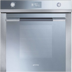 Cuptor incorporabil Smeg Linea SF122BE, electric, multifunctional, 60cm, 11 functii gatit, sticla alba