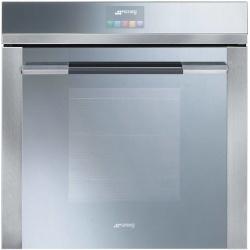 Cuptor incorporabil Smeg Linea SF130E, electric, multifunctional, 60cm,sticla argintie