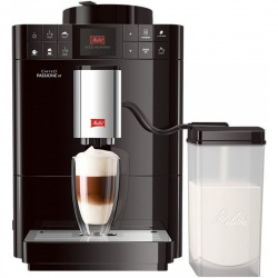 Espressor automat Melitta Caffeo Passione One Touch , Sistem Cappuccino, Autocuratare, 15 Bar, 1.2 l, Negru