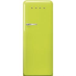 Frigider cu 1 usa SMEG FAB28RVE1, No Frost, Clasa A++, 222L, verde lamaie