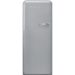 Frigider cu 1 usa SMEG FAB28LX1, No Frost, Clasa A++, 222L, argintiu
