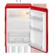 Frigider cu 1 usa BOMANN Larder VS354, Clasa A++, 130L, rosu