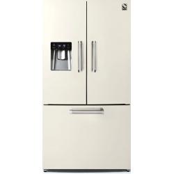 Side by Side Steel Genesi GFR9F , Clasa A+, 536L, No Frost, Dispenser Apa, Twist Ice Maker, negru