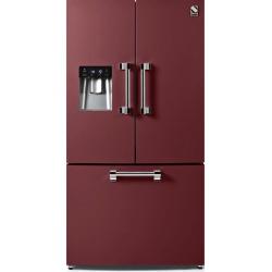 Side by Side Steel Ascot AFR9F , Clasa A+, 536L, No Frost, Dispenser Apa, Twist Ice Maker, negru antracit