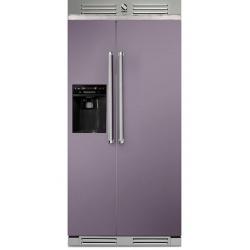 Side by Side Steel Genesi GFR9 , Clasa A+, 543L, No Frost, Dispenser Apa / Gheata, inox