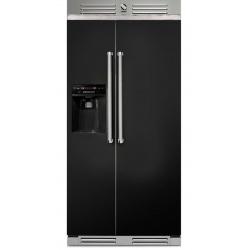 Side by Side Steel Genesi GFR9 , Clasa A+, 543L, No Frost, Dispenser Apa / Gheata, crem