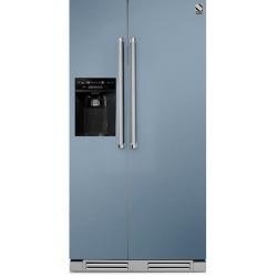 Side by Side incorporabil Steel Genesi GFRB9 , Clasa A+, 543L, No Frost, Dispenser Apa / Gheata, inox